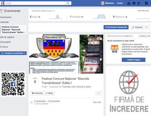 """Festival Concurs Național """"Starurile Transilvănene"""" Editia I"""