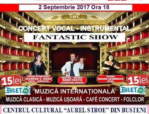 "Ciclul de Concerte ""Fantastic SHOW"""