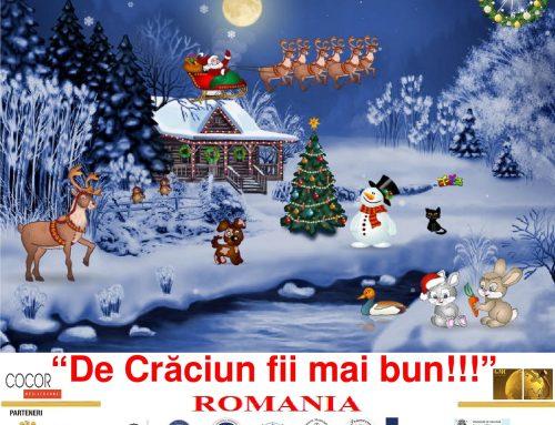 Festival Concurs Internațional/Spectacol De Crăciun Fii Mai Bun!