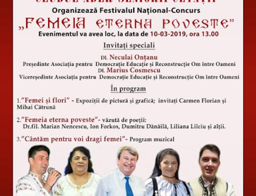 Festival-Concurs Femeia Eterna Poveste