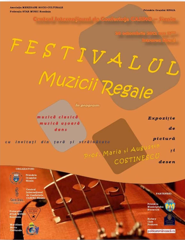 Festivalul MUZICII REGALE