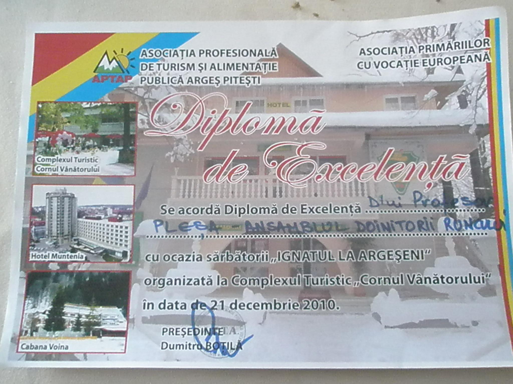 SĂRBĂTOAREA IGNATULUI ÎN ARGEŞ,  21 Decembrie 2010