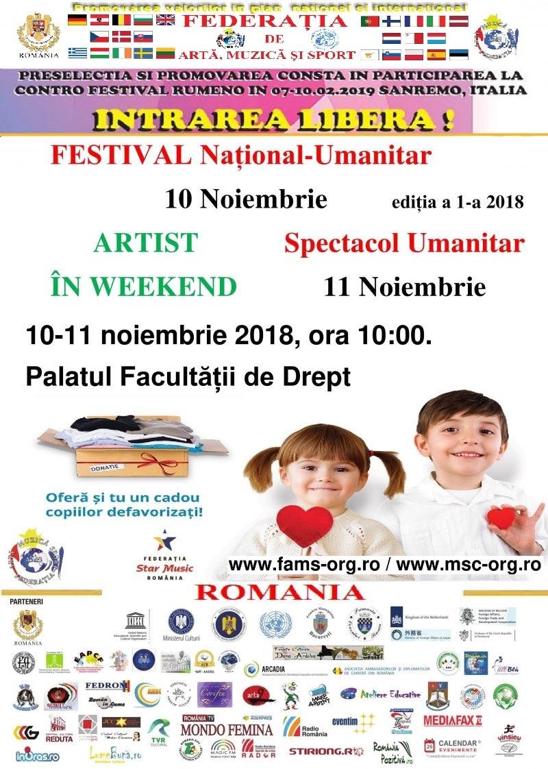 Festival National Umanitar si Spectacol Umanitar