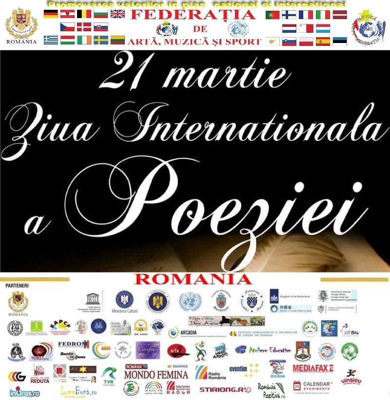 21 martie Ziua Internationala a Poeziei